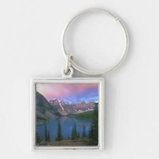 Canada, Alberta, Lake Moraine at Dawn, Banff Keychain