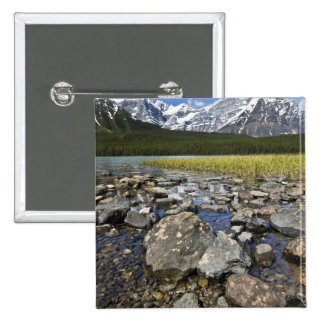 Canadá, Alberta, montañas rocosas, nacional de Ban Pin Cuadrada 5 Cm