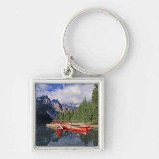 Canada, Alberta, Moraine Lake. The glassy Keychain