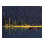 Canadá, Alberta, parque nacional de Baniff. Dos mu Poster