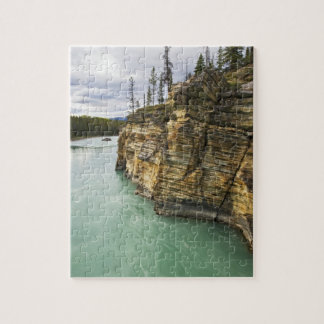 Canadá, Alberta, parque nacional de jaspe, Athabas Puzzle