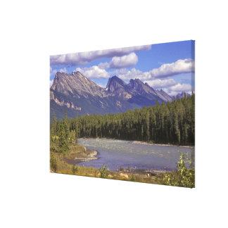 Canadá, Alberta, parque nacional de jaspe. Grande Impresiones En Lona Estiradas