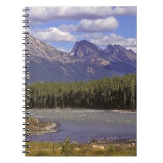 Canadá, Alberta, parque nacional de jaspe. Grande Libreta Espiral
