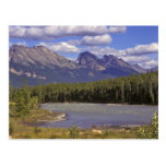 Canadá, Alberta, parque nacional de jaspe. Grande Postal