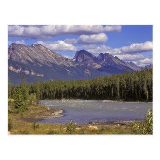 Canadá, Alberta, parque nacional de jaspe. Grande Tarjeta Postal
