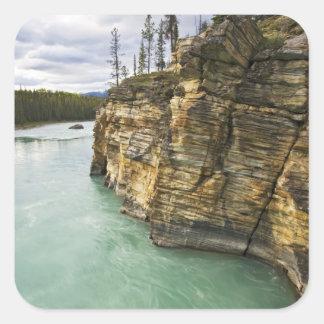 Canadá, Alberta, parque nacional de jaspe, Pegatina Cuadrada