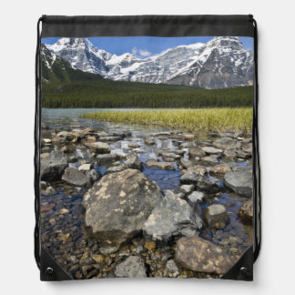Canada, Alberta, Rocky Mountains, Banff National Drawstring Backpack