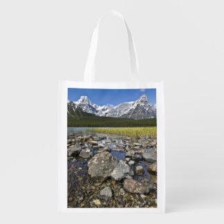 Canada, Alberta, Rocky Mountains, Banff National Reusable Grocery Bag