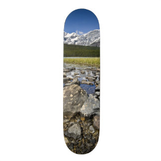 Canada, Alberta, Rocky Mountains, Banff National Skateboard