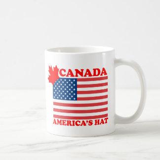 Canada ... America's Hat Classic White Coffee Mug