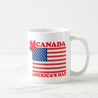 Canada ... America's Hat Coffee Mug