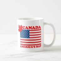 Canada ... America's Hat Mug