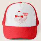 Canada -America's Cool Tuque Trucker Hat