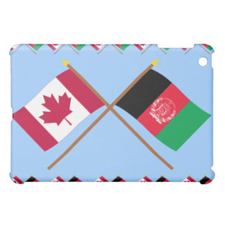 Canada and Afghanistan Crossed Flags iPad Mini Cases