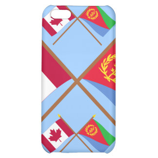 Canada and Eritrea Crossed Flags iPhone 5C Covers