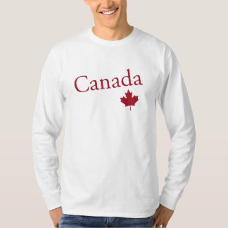 Canada and Maple Leaf T-Shirt
