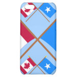 Canada and Somalia Crossed Flags Case For iPhone 5C