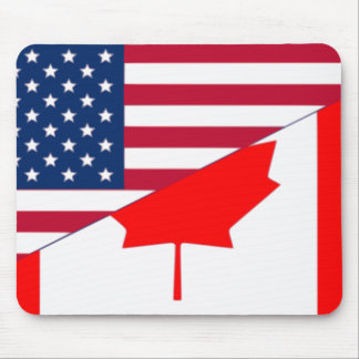 Canada And Usa, hybrids Mouse Pad
