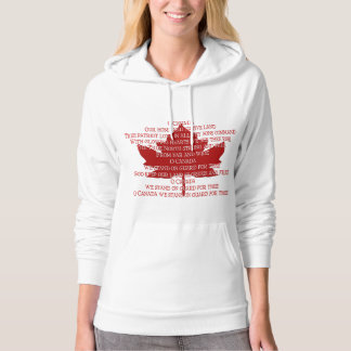 Canadian Hoodies for Women