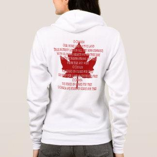 Canada Anthem Hoodie Shirt Souvenir Canada Shirt