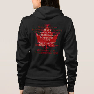 Canada Anthem Hoodie Women's Souvenir Canada Shirt