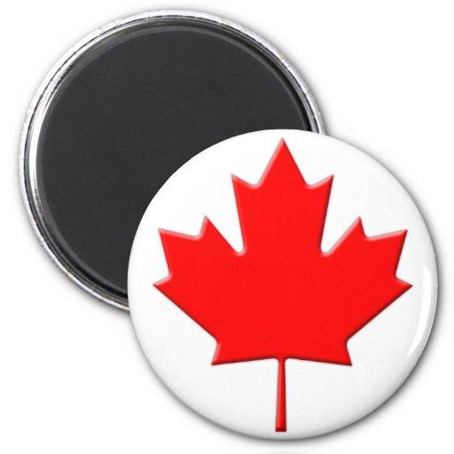 Canadá-Arce-Hoja-biselado Imanes De Nevera
