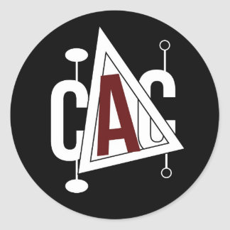 Canada Arts Connect logo sticker (black/nocaption)