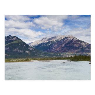 Canada - Athabasca river postcard
