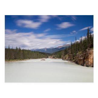 Canada - Athabasca river postcard No.2