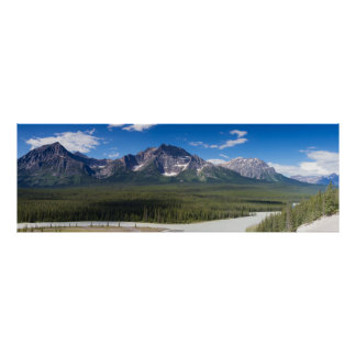 Canada - Athabasca river poster