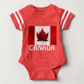 Canada Baby Bodysuit Canada Flag Souvenir One-piec
