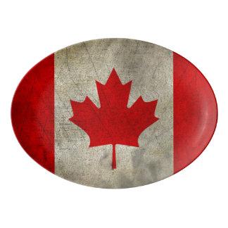 Canadá Badeja De Porcelana