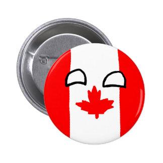Canada Ball Button