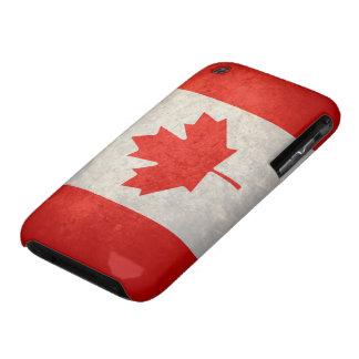 Canadá; Bandera canadiense iPhone 3 Fundas