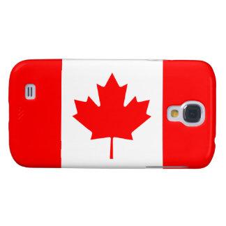 Canadá - bandera canadiense funda para galaxy s4