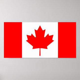 Canadá - bandera canadiense impresiones