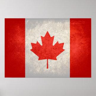 Canadá; Bandera canadiense Impresiones
