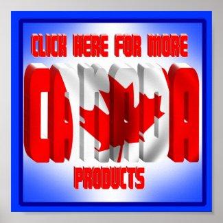 CANADA BANNER print