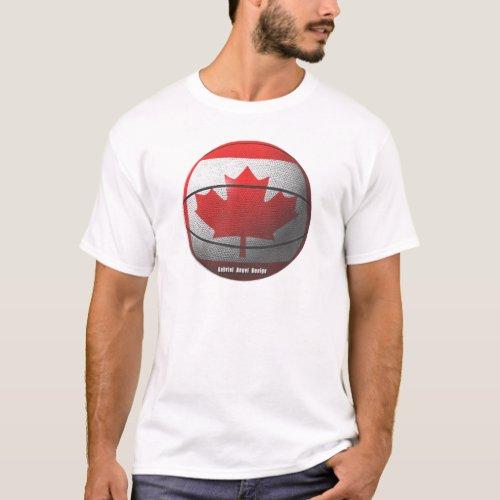 Canada Basketball T_Shirt