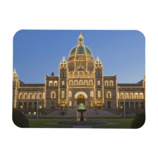 Canada, BC, Victoria, BC Legislature Building at Magnet