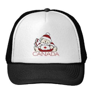 Canada bear trucker hats