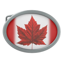 Canada Belt Buckle Cool Canadian Souvenir Buckles