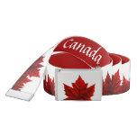 Canada Belts Canada Maple Leaf Belts - Customize