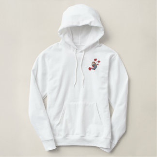 Canada Bird Mountie - Customize Embroidered Hoodie