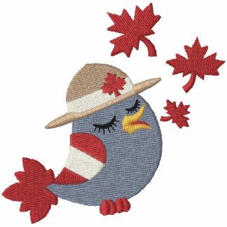 Canada Bird Mountie Embroidered Polo Shirt