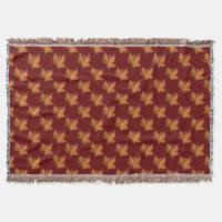 Canada Blanket Canada Maple Leaf Souvenir Throw