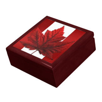 Canada Box Canada Souvenir Gift Jewelry Canada Box Keepsake Box
