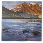 Canada, British Columbia, Alsek River Valley. 2 Ceramic Tile