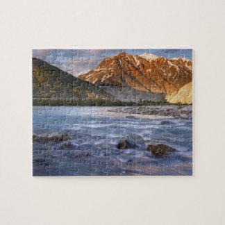 Canada, British Columbia, Alsek River Valley. 2 Jigsaw Puzzles