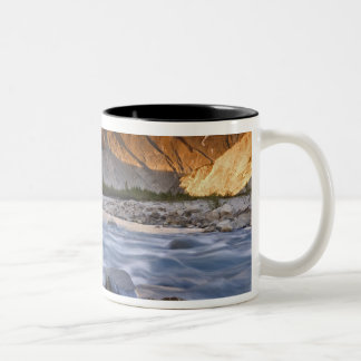 Canada, British Columbia, Alsek River Valley. 2 Two-Tone Coffee Mug